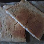 Bezlepková chlebová placka