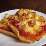 Bezlepková pizza hawai