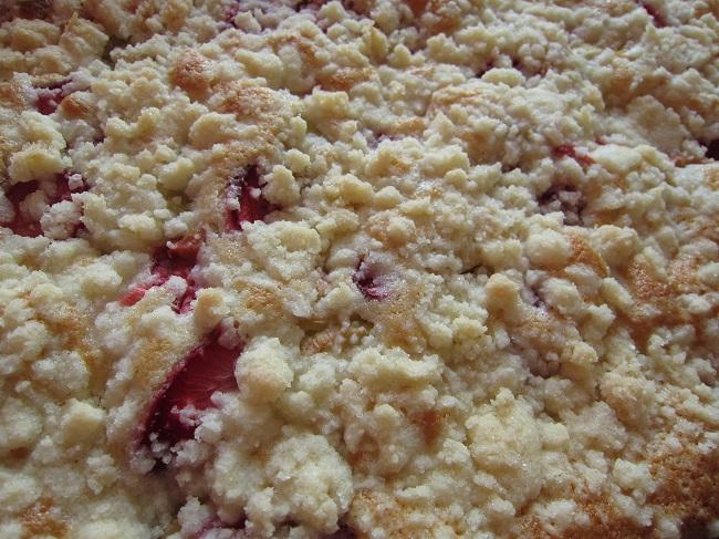 Rebarborový koláč bez lepku