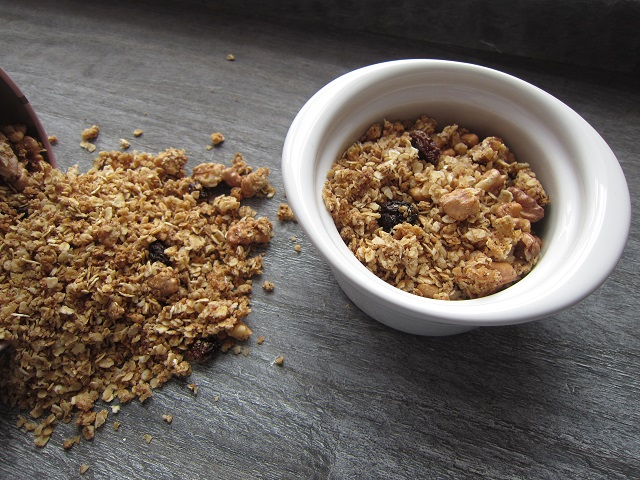 Podzimní granola bez lepku